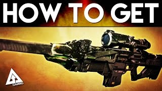 "Destiny How to Get Exotic BLACK HAMMER ""Black Spindle"" EASILY 