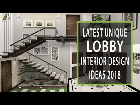 Modern Lobby Interior Design Ideas 2018 | Ceiling DIY Entrance Decor | Plasma Wall Decor