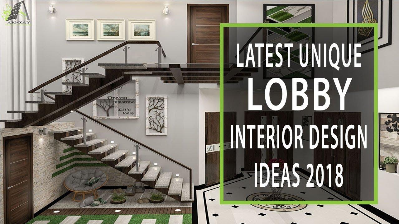 Home Design Entrance Ideas: Modern Lobby Interior Design Ideas 2018