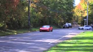 Leaving Millstone Cars & Coffee