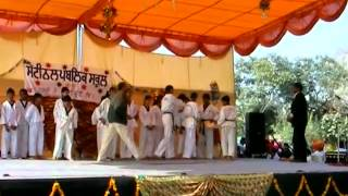 2  Taekwondo Demo at Sentinel Public School, Sohana, Mohali, Punjab India Dec 7, 2013 by Er  Satpal
