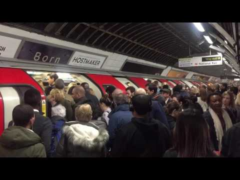   Victoria Line   London Victoria Station   London Underground   Peak Hours  