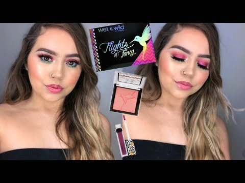 NEW WET N WILD FLIGHTS OF FANCY COLLECTION: FIRST IMPRESSIONS | Makeupbytreenz