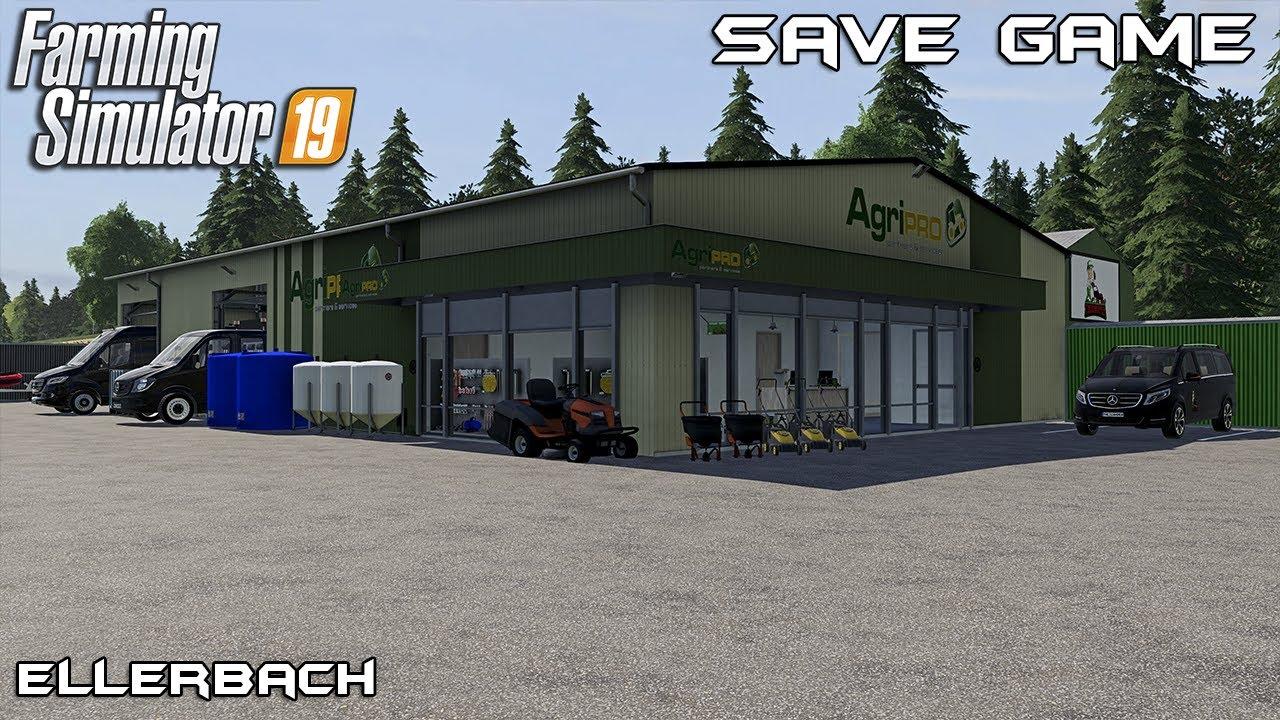 Save Game | Lawn Care on Ellerbach | Farming Simulator 19