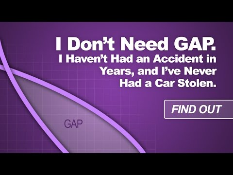 I Don't Need GAP Insurance. I Haven't Had an Accident in Years, and I've Never Had a Car Stolen.