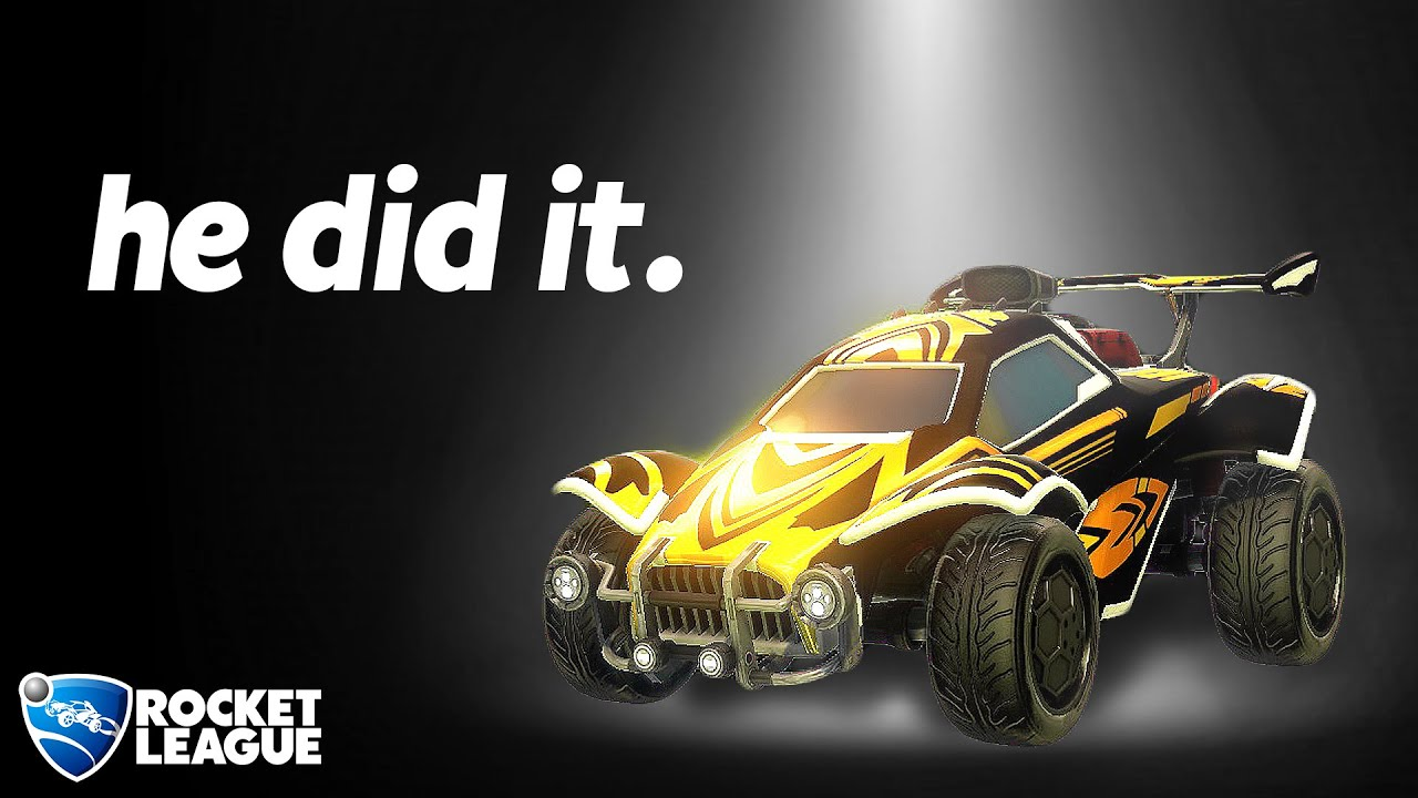 NOBODY HAS DARED TO COMPLETE THIS ROCKET LEAGUE CHALLENGE