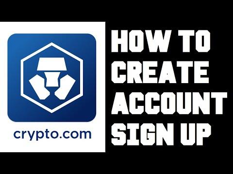 Crypto.com Account Setup - Crypto.com How To Sign Up - Crypto.com Open Account - Referral Bonus