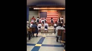 Sabal Palm Patriot cheerleaders