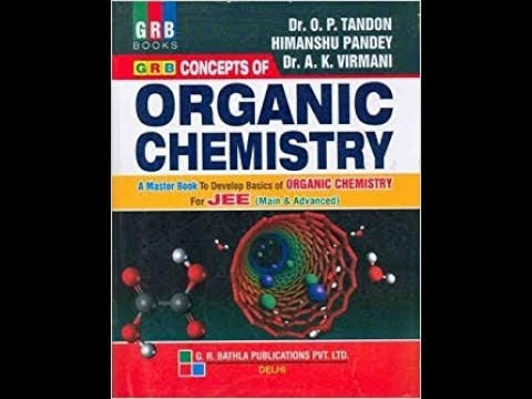 GRB Organic chemistry Book for free for JEE/NEET