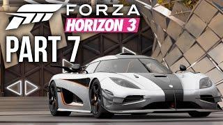 Forza Horizon 3 Gameplay Walkthrough Part 7 - SO MUCH POWERRR & BARN FIND (Full Game)