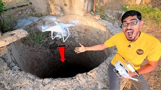 Do Not Fly Drone In Deep Well😨| हो गया 51,000 का नुकसान....