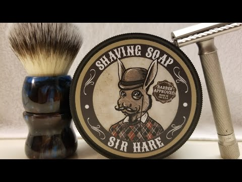 """Shave Starring """"Sir Hare Shave Soap"""""""