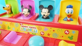 mickey mouse clubhouse pop up pals toy slime surprises minnie pluto goofy donald toys learn colors