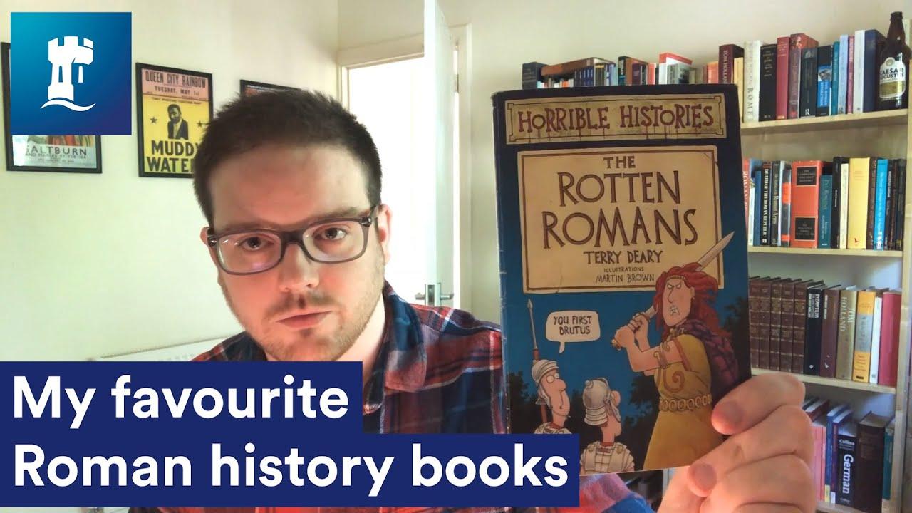 Dr Matt Myers - my favourite Roman history books