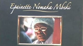 Funeral service of Epaniette Mbeki