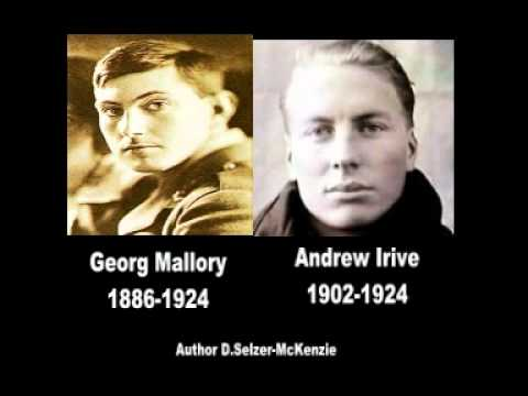 George Mallory 1886-1924 Andrew Irvine 1902-1924 ... George Mallory And Andrew Irvine