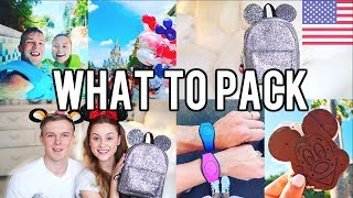 WHAT TO PACK IN YOUR DISNEY WORLD & UNIVERSAL PARK BAG!!