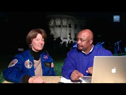 Open for Questions with Astronaut Sally Ride