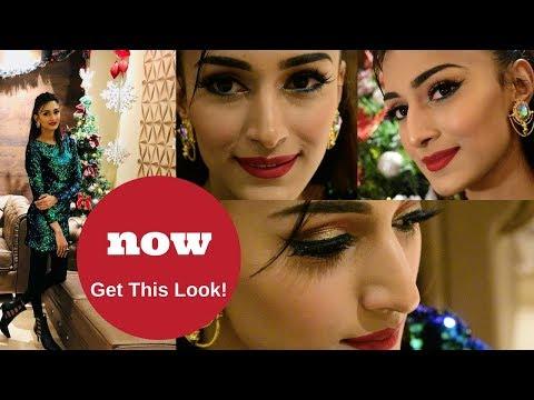 My Christmas Look-  Makeup Tutorial
