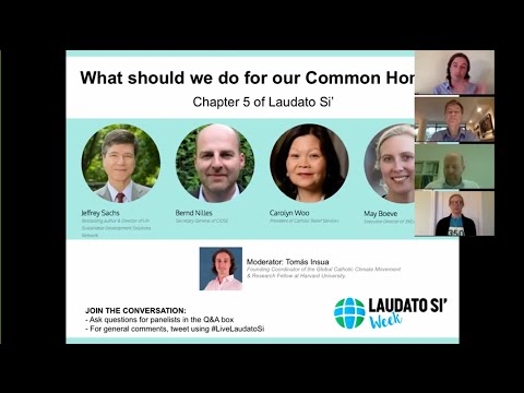 "Laudato Si Online Conference ""What Should We Do for our Common Home (Ch 5)"" (June 16, 2016)"