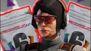 Alpha pack opening! All 2019 collection packs - Rainbow Six Siege