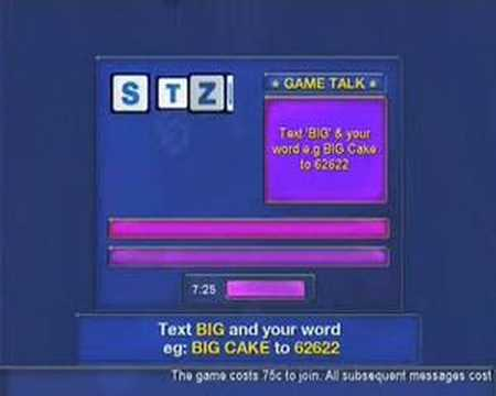 Two Way TV  Buzzwords Mobile to TV Game
