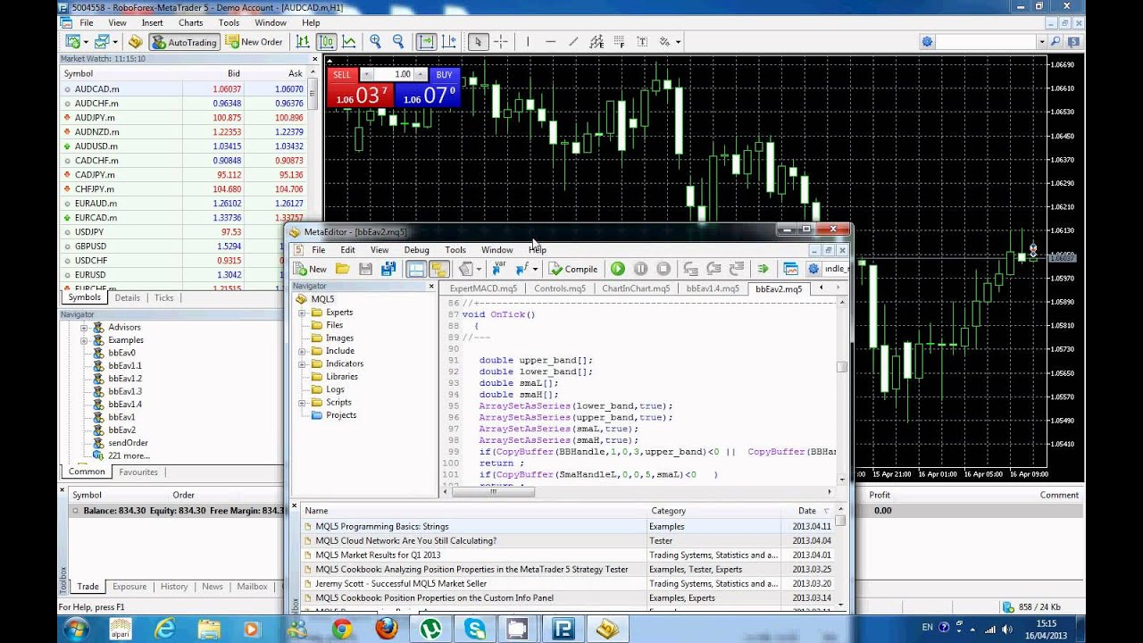 อธิบายโปรแกรม MetaTrader 5 - YouTube