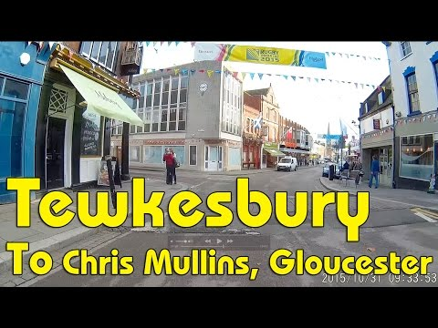 Tewkesbury - Gloucester - Chris Mullins Tyres on the A38