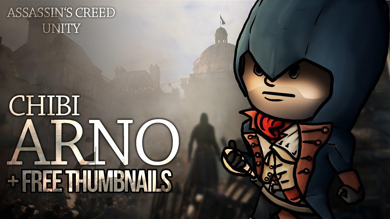 Arno Chibi Assassin S Creed Unity Fanart Youtube