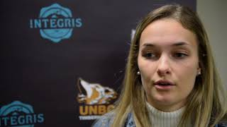 UNBC Women's Basketball Carleton Exhibition Tournament Lookahead - Emily Holmes