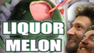 How To Make A Liquor Melon