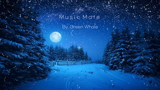 "Relaxing sleep music☁Good music for insomnia, Peaceful piano music, Calm music - ""Snowy night"""