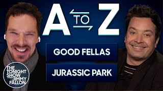 A-to-Z with Benedict Cumberbatch | The Tonight Show Starring Jimmy Fallon