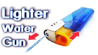 How To Make Lighter Water Gun!