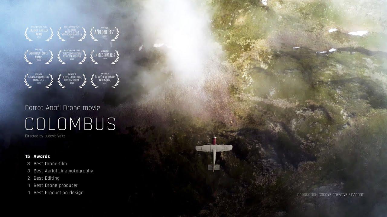 COLOMBUS (FILM DRONE ANAFI) / VERSION FR
