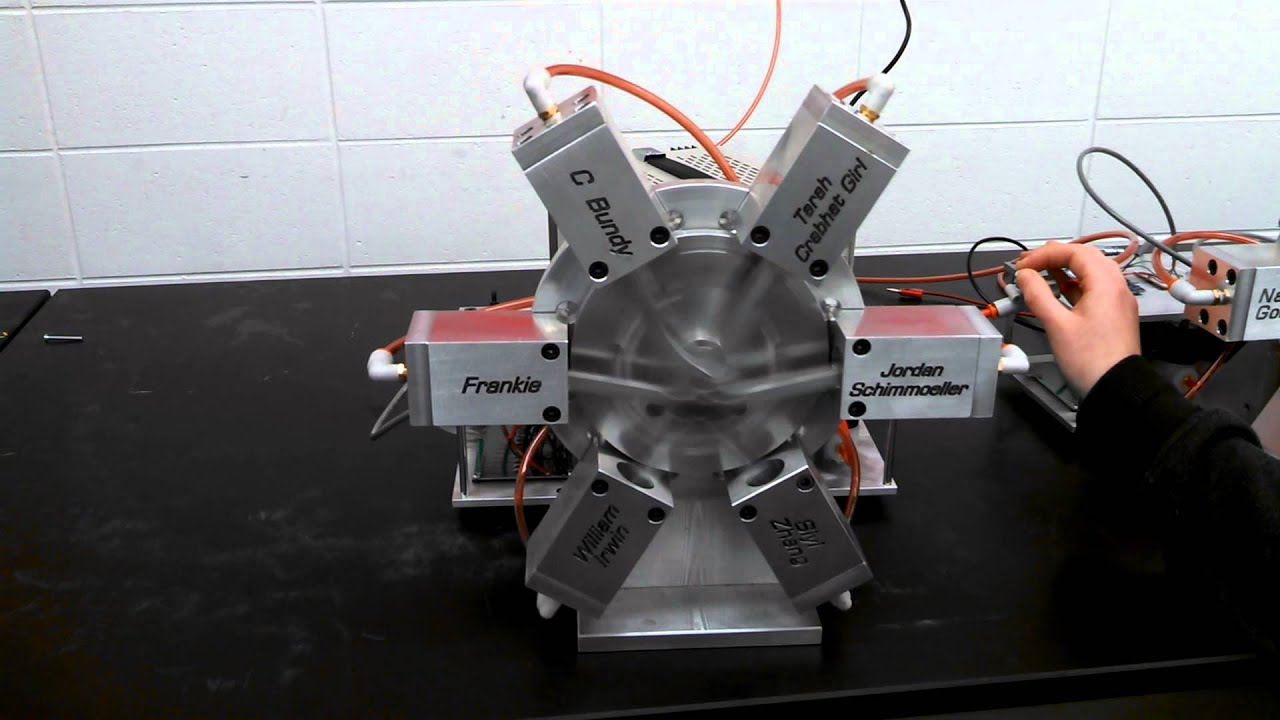 Me design project air motor youtube for What is air motor