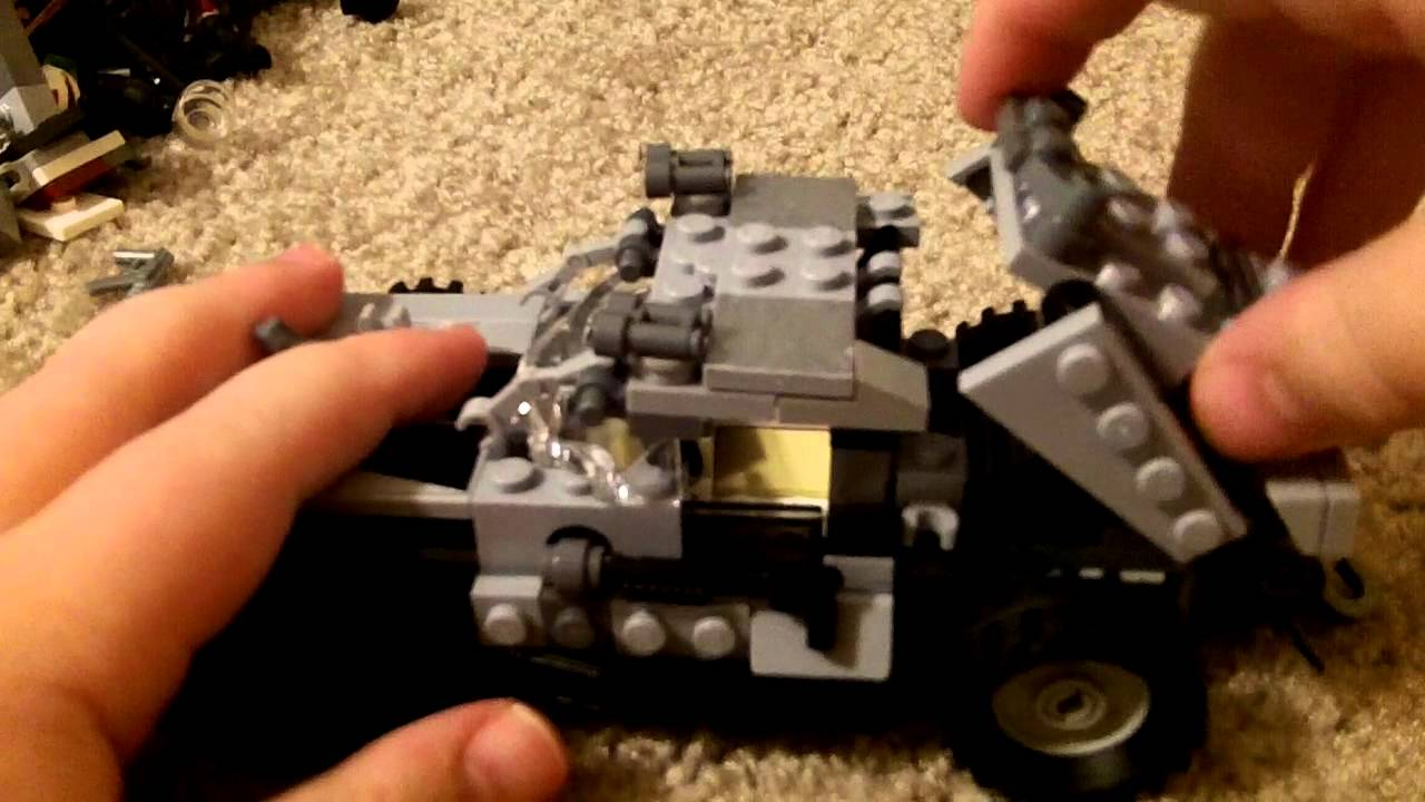 lego james bond car moc - youtube