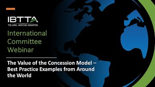 Value of Concession Model - Best Practices from Around the World