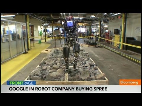 Inside Google's Military Robot Buying Spree