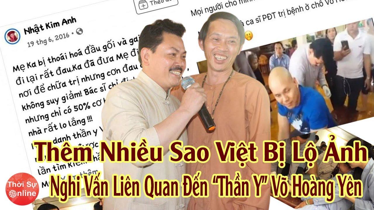"""Không Chỉ Hoài Linh Thêm Nhiều Sao Việt Bị Lộ Ảnh Nghi Vấn Liên Quan """"Thần Y"""" Võ Hoàng Yên"""