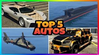 Top 5 beste Autos und Fahrzeuge in GTA 5 ONLINE 2021❗- Top 5 cars and vehicles GTA (Autos und Helis)