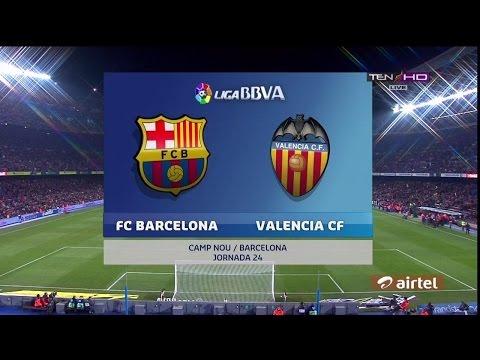 FC Barcelona vs Valencia 7-0 Copa Del Ray (3/2/2016) - All goals & Highlights