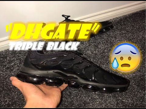 7bc695e465ad Dhgate Review for Air Vapormax Plus One week Hold-Up fake Replica shoe