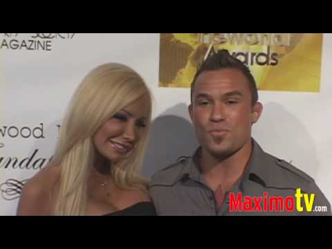 ROB MCCULLOUGH and LEXXI TYLER at Change the World Humanitarian Awards Gala