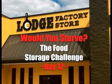 The Food Storage Challenge~Day 12