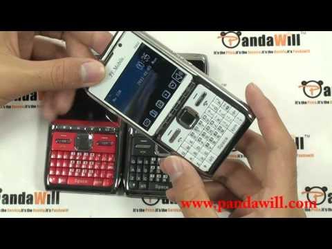 T902 Quad Band Phone Dual SIM Card TV FM Bluetooth Camera 2.2 Inch QWERTY Cellphone