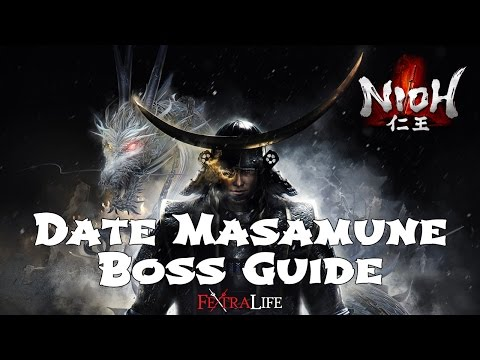 Nioh Date Masamune Boss Fight  Guide (Dragon of the North)