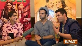 Dolly Ki Doli Movie: Sonam kapoor, Raj Kumar Yadav and Varun Sharma Exclusively on India TV