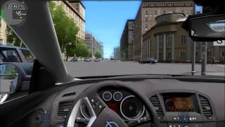 City Car Driving - OPEL Insignia OPC - Speedtest & Crash [Logitech G27]