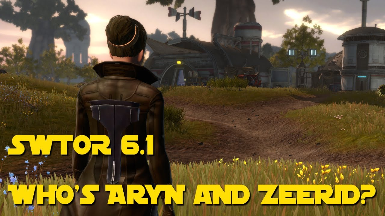 Download SWTOR: Aryn Leneer and Zeerid Korr (Connection to Darth Malgus Explained)